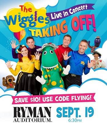 The Wiggles Tickets Giveaway