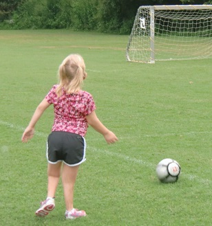 Mom, I want to play soccer