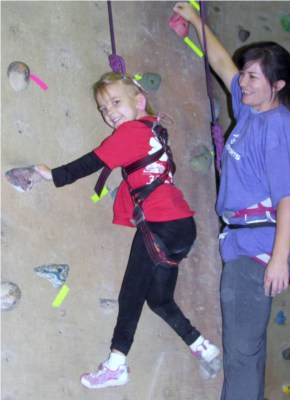 Adaptive Climbing Clinics: Helping kids with special needs reach new heights
