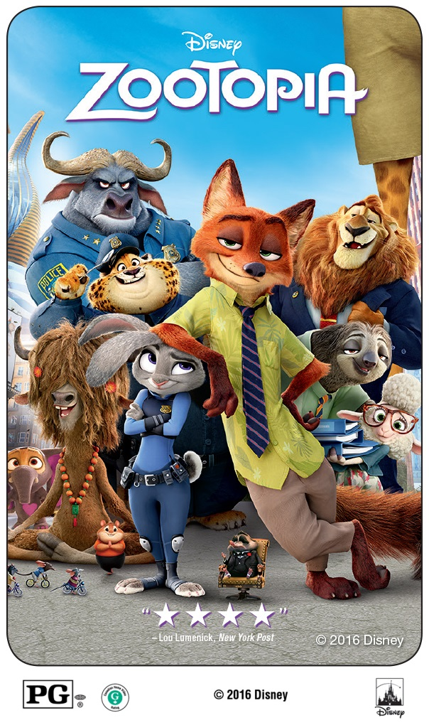Zootopia Movie Giveaway