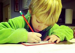 importance of handwritten thank you notes in children